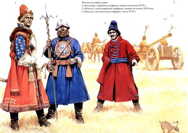 Московская артиллерия XVII век