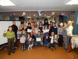 22 октября в с. Екатерининское состоялась конкурсная программа «Мы вместе!» для семей беженцев из Украины