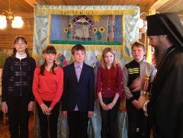 Пасхальное представление кукольного театра в Доме дружбы г.Тара
