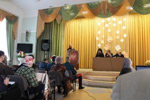 Крестный ход и Круглый стол в Саргатском