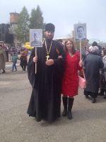 Крестный ход в честь Великой Победы в г.Тара