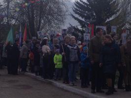 Крестный ход в г.Таре в честь Великой Победы в ВОВ.