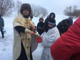 Крестный ход в селе Уралы