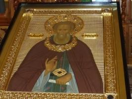 В Тару прибыл крестный ход с иконой Прп. Сергия