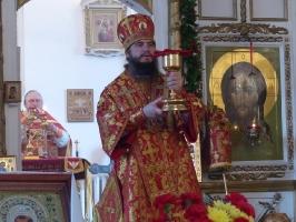 Епископ Савватий на пасхальной седмице в Тевризском благочинии